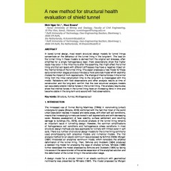A new method for structural health evaluation of shield tunnel