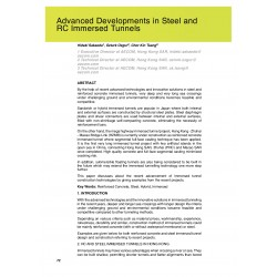Advanced Developments in Steel and RC Immersed Tunnels