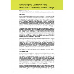 Enhancing the Ductility of Fibre Reinforced Concrete for Tunnel Lining s
