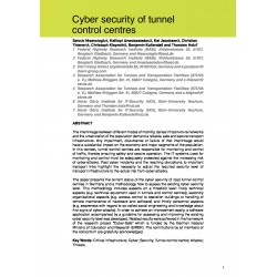 Cyber security of tunnel control centres