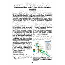 Ventilation System in Large Hydro Projects in India: A Case Study of Successful Implementation of Effective Ventilation System at Tehri Pump Storage Project
