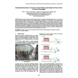 Streamlined Stormwater Conveyance Tunnel Planning and Design for Flood Control in Central Copenhagen