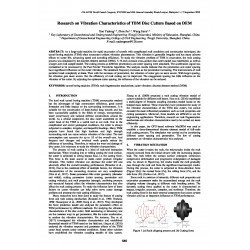 Research on Vibration Characteristics of TBM Disc Cutters Based on DEM