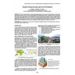 Strategic Underground Space and Cavern Development