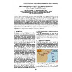Effects of EPB Shield Tunnelling on Ground Surface Settlements: A Case Study in Kenny Hill Formation