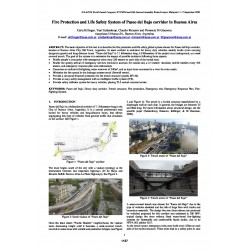 Fire Protection and Life Safety System of Paseo del Bajo corridor in Buenos Aires