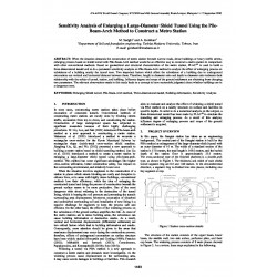 Sensitivity Analysis of Enlarging a Large-Diameter Shield Tunnel Using the Pile-Beam-Arch Method to Construct a Metro Station