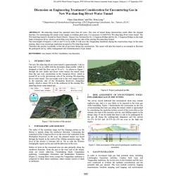 Discussion on Engineering Treatment Consideration for Encountering Gas in New Wu-shan-ling Divert Water Tunnel