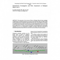 Geotechnical Investigation and Risk Assessment at Budapest Metro Line 4
