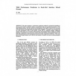 TBM Performance Prediction in Rock-Soil Interface Mixed Ground
