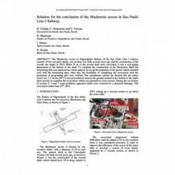 Solution for the conclusion of the Mackenzie access in Sao Paulo Line 4 Subway