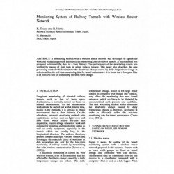 Monitoring System of Railway Tunnels with Wireless Sensor Network