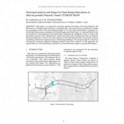 Structural analysis and design for final lining bifurcations in alluvial grounds Niayesh Tunnel (Tehran, Iran)