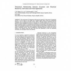 Theoretical Relationship between Q-system and Electrical Resistivity: Derivation and Field Application