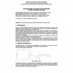Full-scale tests on precast tunnel segments in fiber reinforced concrete